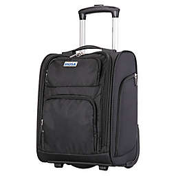 InUSA Ultra-Light 15-Inch Underseat Luggage in Black