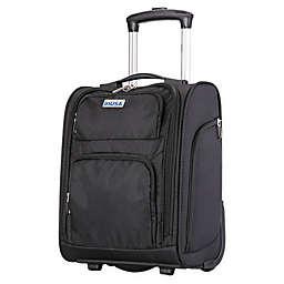 InUSA Ultra-Light 15-Inch Underseat Luggage in Black