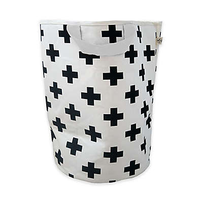 Wildfire Teepess® Cross Toy Storage Bag with Handles in Black/White