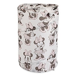 Disney® Minnie Mouse Round Pop-Up Hamper in Pink