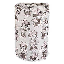 Disney® Minnie Mouse Round Pop-Up Hamper in Pink