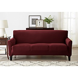 Great Bay Home Seneca Jersey Strapless Furniture Slipcover Collection
