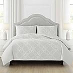 Shanti Full/Queen Comforter Set in Grey