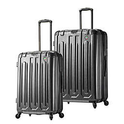 Mia Toro ITALY Lustro Hardside Spinner Checked Luggage