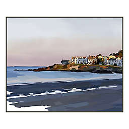 Peaceful Coast 28-Inch x 22-Inch Wood Box Wall Art