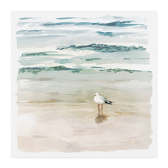 Alternate image 1 for Trademark Fine Art Victoria Borges Seagull Cove II 24-Inch Square Wrapped Canvas Wall Art