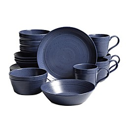 Bee & Willow™ Home Milbrook 16-Piece Dinnerware Set in Blue