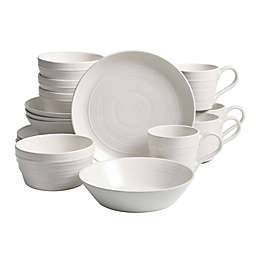 Bee & Willow™ Home Milbrook 16-Piece Dinnerware Set in Coconut White