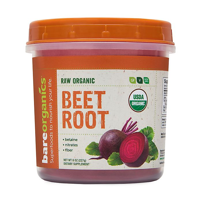 Alternate image 1 for BareOrganics® 8 oz Raw Organic Beet Root Powder