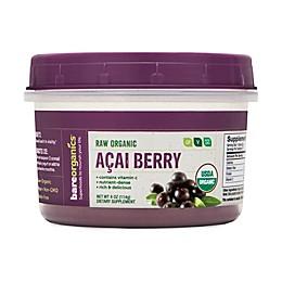 BareOrganics® 4 oz Raw Organic Acai Berry Powder