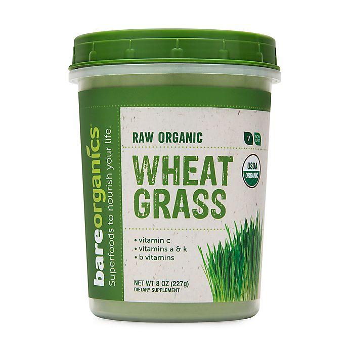 Alternate image 1 for BareOrganics® 8 oz. Raw Organic Wheat Grass Powder