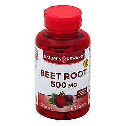 Nature's Reward 90-Count 500 mg Beet Root Quick Release Capsules