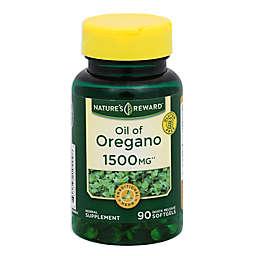 Nature's Reward 90-Count 1500 mg Oil of Oregano Quick Release Softgels