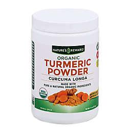 Nature's Reward 11 oz. Pure Organic Turmeric Powder
