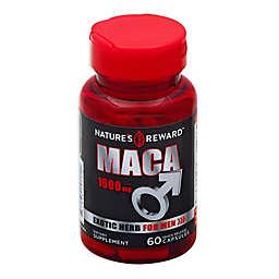 Nature's Reward 60-Count 1200 mg Maca Quick Release Capsules for Men
