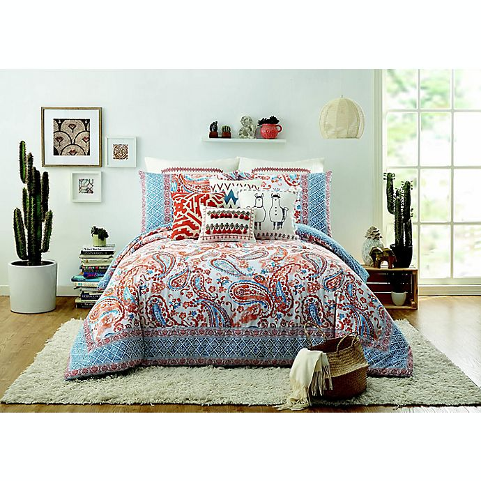 Alternate image 1 for Jessica Simpson Caicos Bedding Collection