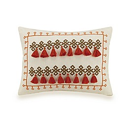 Jessica Simpson Caicos Oblong Throw Pillow in Coral