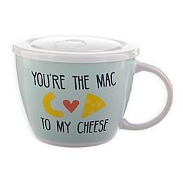Mac & Cheese 26 oz. Soup Mug with Lid