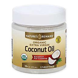 Nature's Reward 16 fl. oz. Extra Virgin Organic Coconut Oil