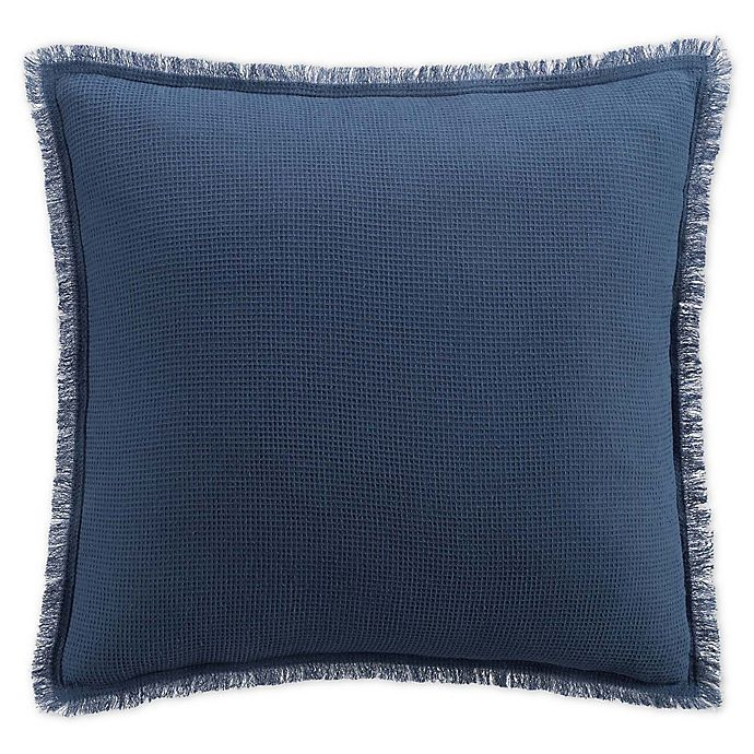 Alternate image 1 for UGG® Ugg Harbor Square Throw Pillow in Blue/White