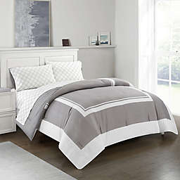 Finely 5 Piece Reversible Comforter Set
