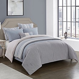 Kayden 7-Piece Reversible Comforter Set