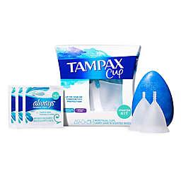 Tampax® 2- Count Menstrual Cup Starter Kit Regular to Heavy Flow