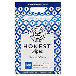 The Honest Company® Ikat 288-Count Plant-Based Baby Wipes