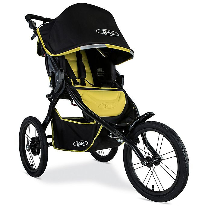 Alternate image 1 for BOB Blaze™ Peformance Stroller in Citron