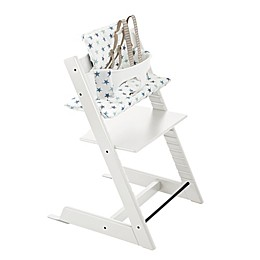 Stokke® 4-Piece Tripp Trapp® High Chair Complete Bundle Set in White
