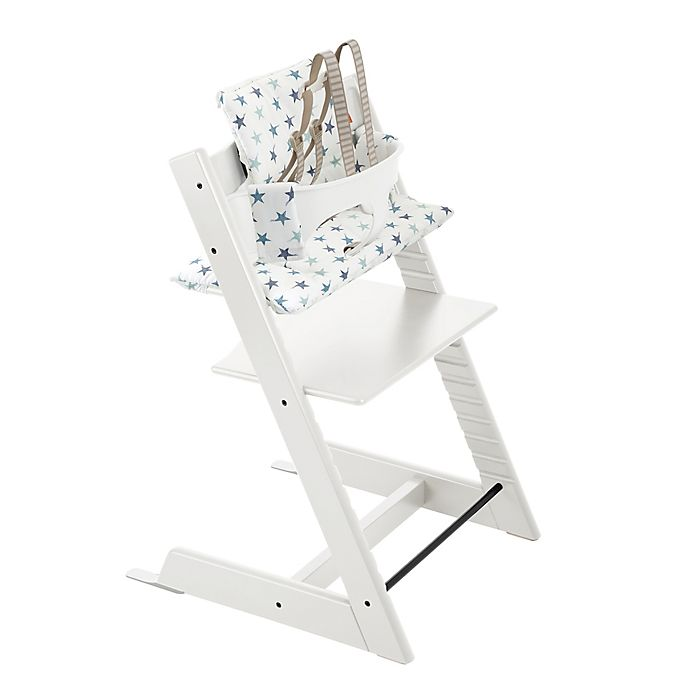 Alternate image 1 for Stokke® 4-Piece Tripp Trapp® High Chair Complete Bundle Set in White