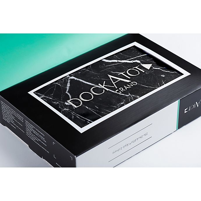 Alternate image 1 for DockATot® Grand Spare Cover in Black Marble