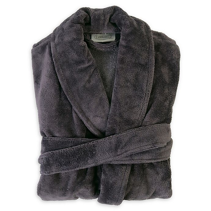 Alternate image 1 for Cariloha® Unisex Ultra-Plush Viscose from Bamboo Bathrobe