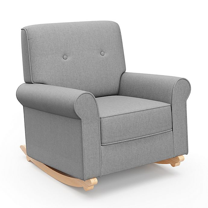 Tremendous Graco Harper Tufted Convertible Rocker In Grey Alphanode Cool Chair Designs And Ideas Alphanodeonline
