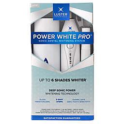 Luster Premium White® Power White Pro Sonic Dental Teeth Whitening System