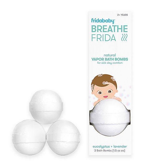 Alternate image 1 for Fridababy BreatheFrida® 3-Pack Vapor Bath Bombs