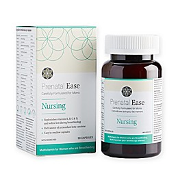 Prental Ease 60-Count Nursing Supplement Capsules