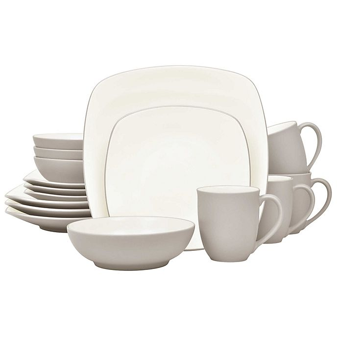 Alternate image 1 for Noritake® Colorwave Square Dinnerware Collection