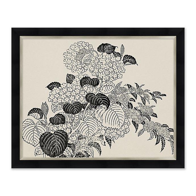 Alternate image 1 for Black and White Flowers III Framed Print Wall Art