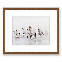 Horse Dreams Paper Framed Print Wall Art