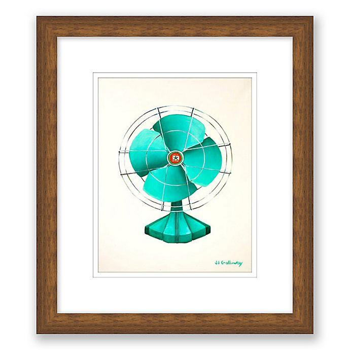 Alternate image 1 for Emerald Fan 10-Inch x 11.5-Inch Framed Wall Art