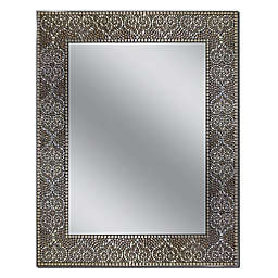 Head West 22-Inch x 28-Inch Moroccan Mosaic Mirror