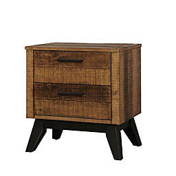Westwood Design Urban Rustic Nightstand in Wheat