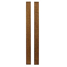 Westwood Design Urban Rustic Full-Size Bed Rails in Wheat (Set of 2)