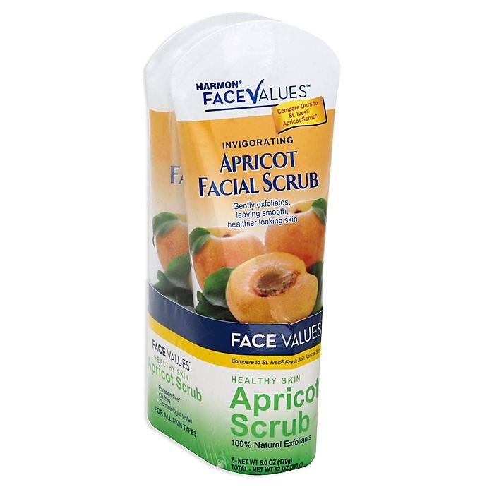 Alternate image 1 for Harmon® Face Values™ 2-Count 12 oz. Apricot Facial Scrub
