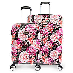 BEBE Marie Rolling Hardside Spinner Luggage Collection in Floral