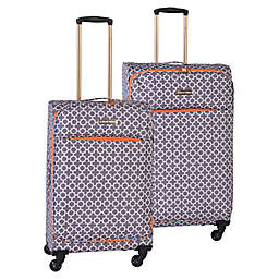 Jenni Chan Aria Broadway Spinner Checked Luggage
