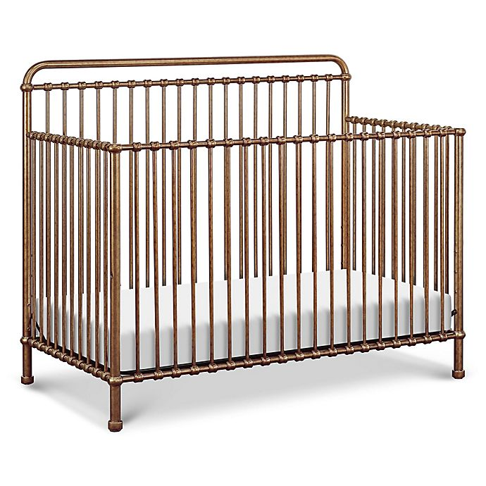 Alternate image 1 for Million Dollar Baby Classic Winston 4-in-1 Convertible Crib in Vintage Gold