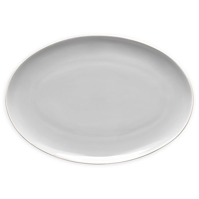 Alternate image 1 for Noritake® ColorTrio Coupe 16-Inch Oval Platter in Sand