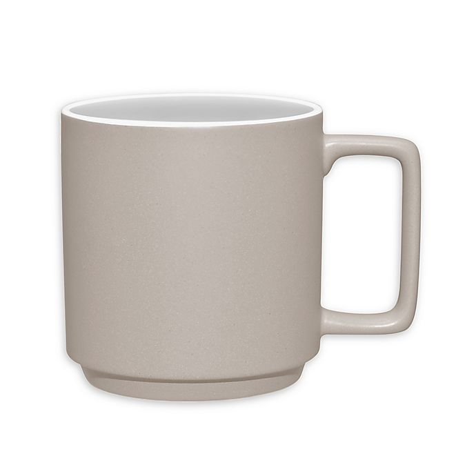 Alternate image 1 for Noritake® ColorTrio Stax Mug in Sand